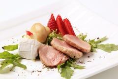 Schweinefleischzartes lendenstück Lizenzfreie Stockbilder