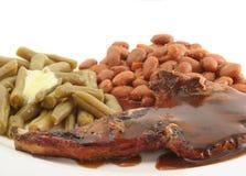 Schweinekotelett mit Soße Stockfoto
