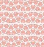 Schweinhintergrund-Musterrosa Stockfoto
