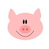 Schweinkarikaturvektor Lizenzfreies Stockbild