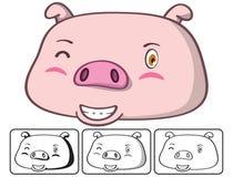 Schweinkopf Lizenzfreie Abbildung