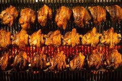 Schweinshaxe зажарило в духовке свинину Стоковые Фотографии RF