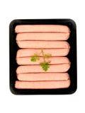 Schweinswürste Lizenzfreie Stockfotografie