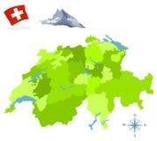 Schweiz lizenzfreies stockfoto