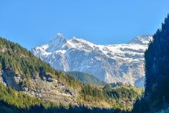 Schweiz Eiger Arkivfoto