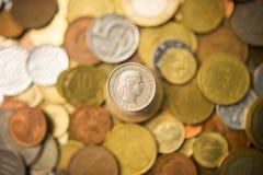 Schweiz franc Fotografering för Bildbyråer