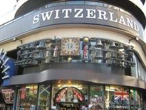Schweiz klockalager arkivfoton