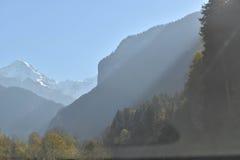 Schweiz landskap Arkivfoto