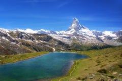 Schweiz Matterhorn arkivbild