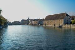 Schweiz Solothurn Arkivfoton