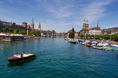 Schweiz zurich, Arkivfoton