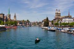 Schweiz zurich, Arkivfoto