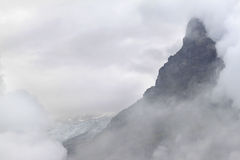 schweizare för glaciär för alpscloudinesseiger Royaltyfria Foton
