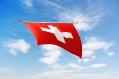 schweizare för serie för cantonflaflagga nationell Royaltyfria Foton