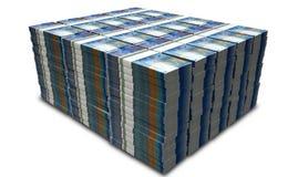 Schweizare Franc Notes Bundles Stack Arkivfoto