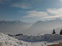 Schweizare Graubà ¼ nden Royaltyfri Bild
