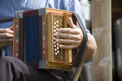 Schweizer accordian Stockfotos