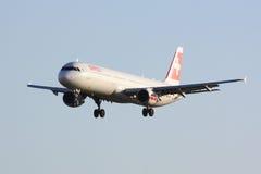 Schweizer Airbus A321 Stockfotografie