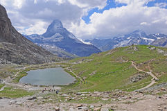 Schweizer Alpen. stockbilder