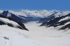 Schweizer Alpen. lizenzfreie stockbilder