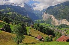 Schweizer Alpen. lizenzfreies stockbild