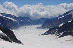 Schweizer Alpen. stockfotografie