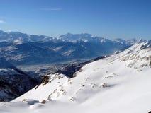 Schweizer Alpen Lizenzfreies Stockbild