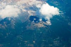 Schweizer Alpen stockfoto