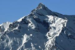 Schweizer Alpen, das Geschlecht noir Stockfotos