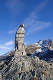 Schweizer Alpen - Durchlauf und Adler Simplon Stockfotos