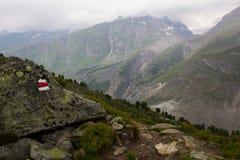 Schweizer Alpen Jungfrau-Aletsch Lizenzfreies Stockbild
