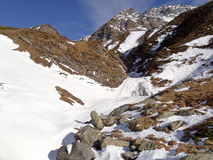 Schweizer Alpen - San Bernardino Lizenzfreies Stockfoto