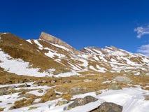 Schweizer Alpen - San Bernardino Stockfotos