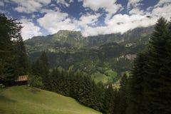 Schweizer Alpenpanorama Stockfotos