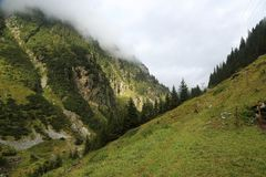 Schweizer Berge Lizenzfreie Stockfotografie