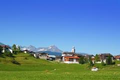 Schweizer Dorf Lizenzfreie Stockbilder