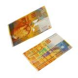 Schweizer Franc stockfotos