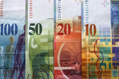 Schweizer Franc Stockfotografie