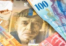 Schweizer Franken Lizenzfreie Stockfotos
