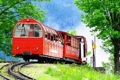 Schweizer Gleise. stockbilder