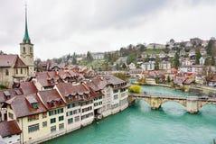Schweizer Hauptstadt von Bern, die Schweiz Stockbild