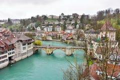 Schweizer Hauptstadt von Bern, die Schweiz Lizenzfreie Stockfotos
