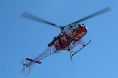 Schweizer Hubschrauber Stockfotos