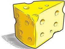 Schweizer Käse Lizenzfreie Stockfotos