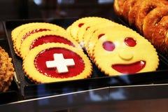 Weihnachtsplätzchen Schweiz.Schweizer Kekse Stockfoto Bild Von Schweizer Bonbons 80254592