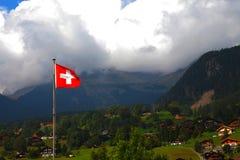 Schweizer Landschaft Stockfotos