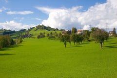 Schweizer Landschaft Stockfoto