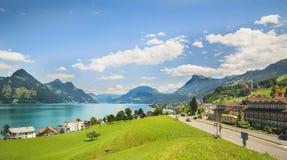 Schweizer Landschaft Lizenzfreie Stockfotografie