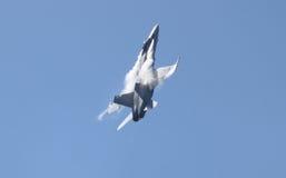 Schweizer Luftwaffe F-18 Hornisse stockfotografie
