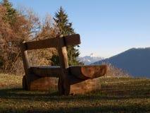 Schweizer - Lugano, Monte Bré Lizenzfreie Stockfotografie